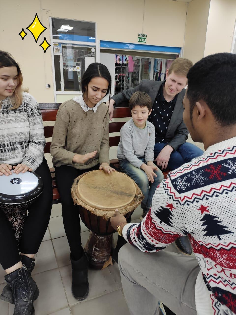 Бесплатный мастер-класс по игре на барабанах
